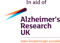 In aid of Alzheimer's Research UK